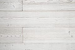 All WoodyWalls products are made with real wood, presenting authentic design and texture for a beautifully rich finish. Each board is unique, giving your decor a warm and natural look. The product must be used on interior walls only, make sur...