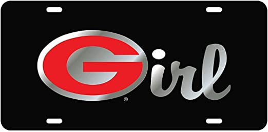 Georgia G Girl LICENSE PLATES Plate Tag Tags auto vehicle car front