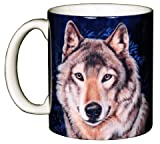 Lone Wolf 11 oz. Ceramic Coffee Mug