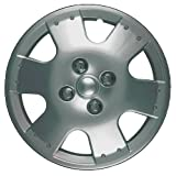 CCI IWC193-14S 14 Inch Clip On Silver Finish Hubcaps - Pack of 4 by CCI