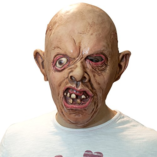 The Mask Biz Scary Ugly Baby Head Funny Mask (Dickhead Costumes)