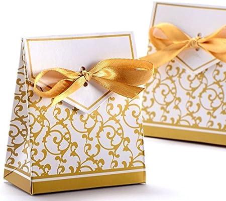 Confezioni Per Bomboniere Matrimonio.100 Scatole Per Bomboniere Da Matrimonio Dolciumi Caramelle