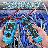 Wire Tracker, ELEGIANT RJ11 RJ45 Cable Tester