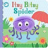 Itsy Bitsy Spider Finger Puppet Book
