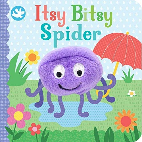Itsy Bitsy Spider Finger Puppet Book