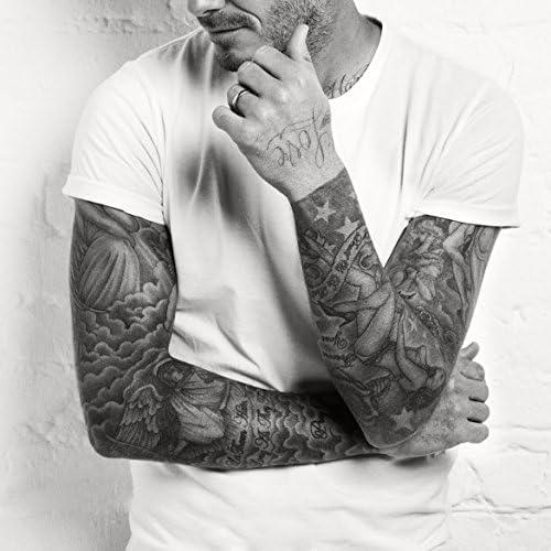 kotbs 4 hojas Mix similar Beckham cuello brazo cuerpo adhesivo ...