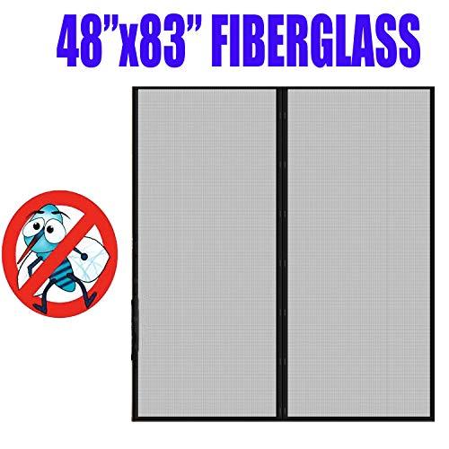 - Fiberglass Mesh Magnetic Screen Door 48