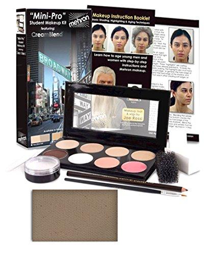 Mehron Mini-Pro Student Makeup Kit - Medium, Olive