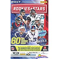 $249 » 2017 Panini Rookies & Stars NFL Football HUGE 60 Card Factory Sealed HANGER Box with 3…