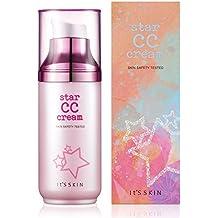 It's Skin Radiant Star CC Cream and Sunscreen, SPF36 SP++ Moisturizer Anti Wrinkle Illuminator Foundation UV Block Safety Tested (50mL)