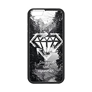 """Diamond ~ Personalized Custom Beauty Diy Smooth Surface Durable Tpu Rubber Silicone Case Cover Skin Unique iphone 6 Plus Case ~ (iPhone 6 plus, 5.5"""" Case)"""