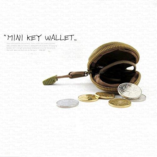 (Etopsell Mini Outdoor EDC Coin Purse, Key Pouch,Portable Accessory Bag)