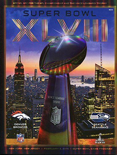 2014 Super Bowl XLVIII Program. Seahawks VS Broncos from Brigandi Coins and Collectibles