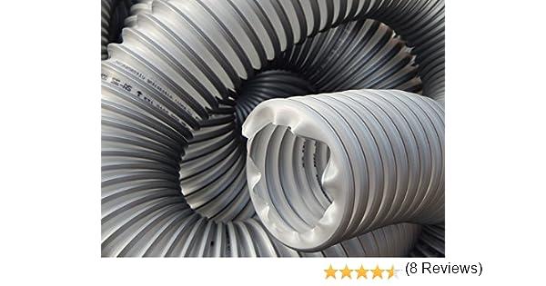 timberduc® Extracción Manguera con base de alambre de acero Flex Manguera Manguera para extracción Instalaciones 40 mm – 200 mm: Amazon.es: Bricolaje y herramientas