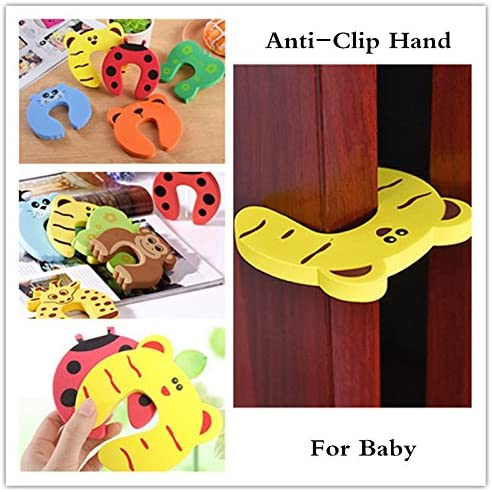 Haodou Baby Door Stopper Finger Guard Child Baby Proof Product Safety Guard Cartoon Animal Foam Pinch Finger Protection Safety Hand Pinch