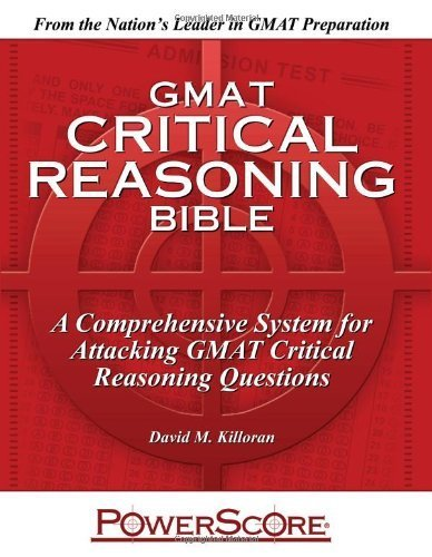 comprehensive critical reasoning guide Interested in veritas prep gmat - critical reasoningpdf bookmark it to view later  comprehensive critical reasoning guide university of utah.