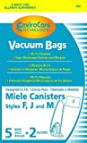 EnviroCare Replacement Bags for Miele F J M Microfiltration...