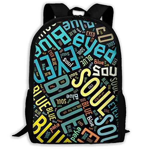 X-JUSEN Unisex Adult Chap Hop Travel Laptop Backpack, Student Rucksack, Double Shoulders Nylon Oxford Cloth Bag Bookbag Daypack (Unisex Classic Chap)