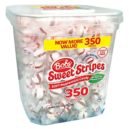 Bobs Sweet Stripes Square Tub (350 count.) ES -