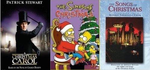 The Simpsons Christmas Dvd.Amazon Com 3 Dvd Christmas Gift Set A Christmas Carol