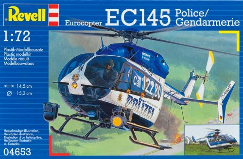 Revell of Germany EC 145 Polizei/Gendarmerie Plastic Model Kit