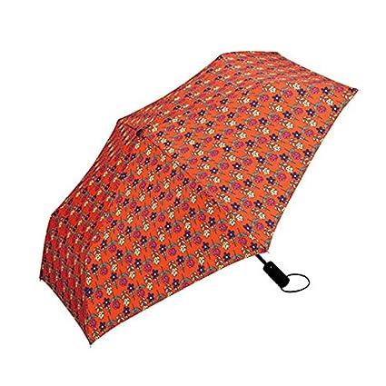 Paraguas plegable automatico Mujer niño Hombre an- Paraguas de Apertura y Cierre automático Plegable -