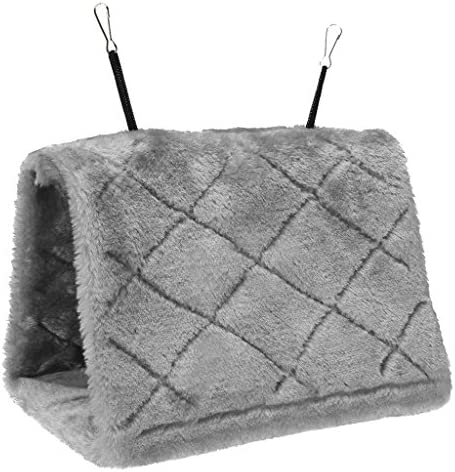 Sherry ペットのハンギング ハンモック 小鳥の 三角ベッド 暖かい巣 おもちゃ ハムスター、スナネズミ、マウス、ラット、小さなオウムのハンモック