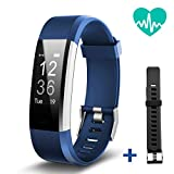 JoyGeek Fitness Tracker, Heart Rate Monitor Smart Bracelet, Bluetooth Smart Watch with Sleep Monitor Pedometer GPS Call/SMS Reminder for iPhone X/8/8plus/7 Samsung S8/note 8