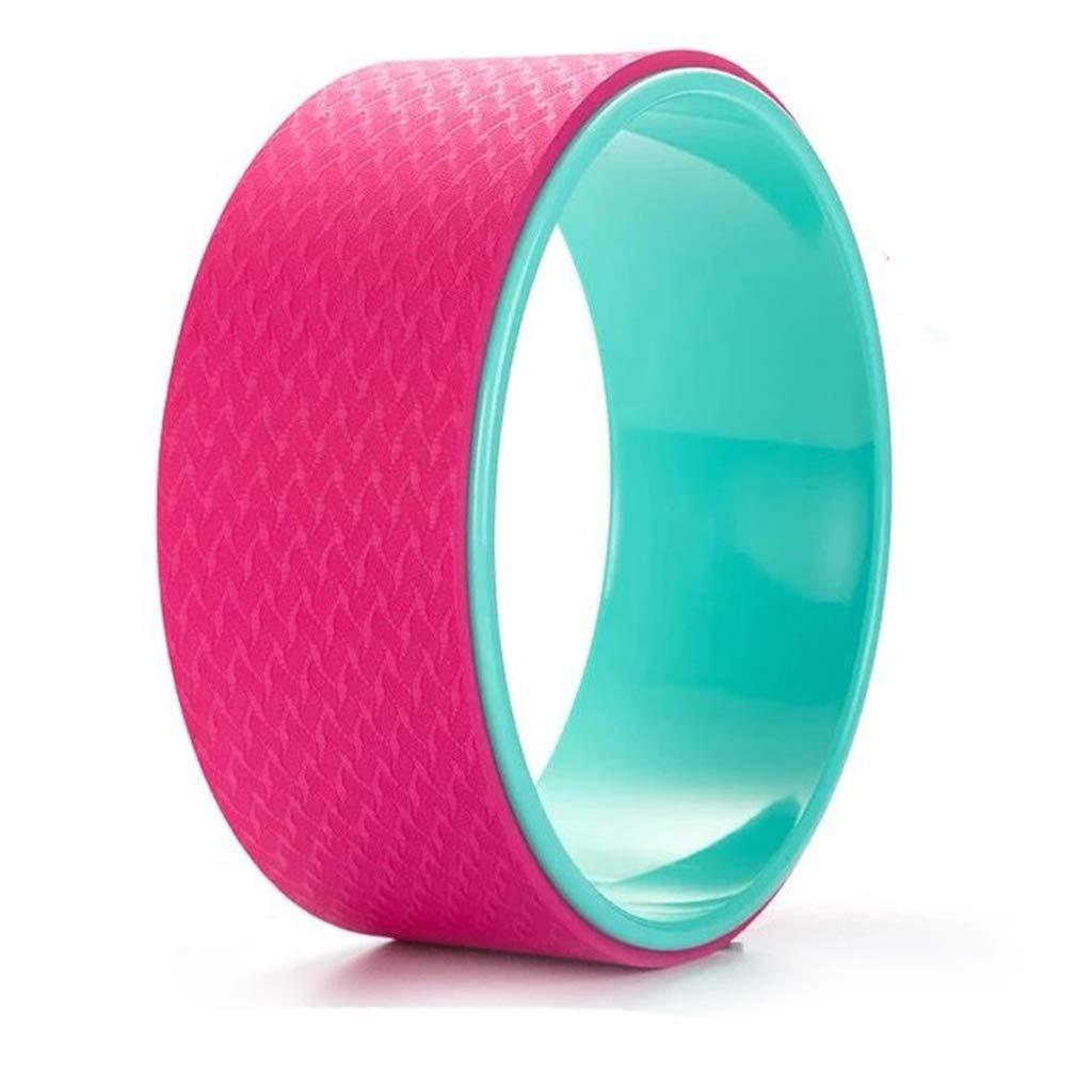 INOOY Yoga-Radhalterung Yoga-Gürtel Komfortable und langlebige Yoga-Balance-Zubehörteile,Gelb