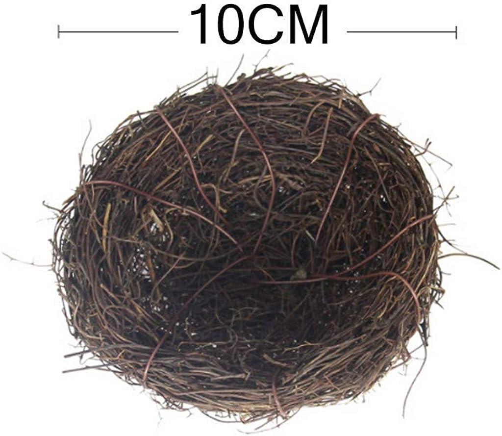 Dasongff Osternest Ostern Deko Vogelnest f/ür S/ü/ßigkeiten Eier Tischdeko,Simuliert Mini K/ünstlich Wachtelei Vogelnest Modell Ostern Simulation Strau/ßenei Vogelnest