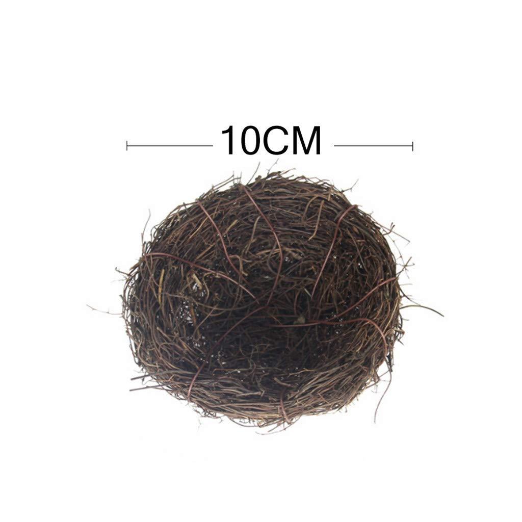 Zariavo Foam Bird Eggs Mini Huevo de Codorniz Artificial Nido de Aves Modelo Creativo Decoraci/ón de Pascua