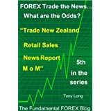 "FOREX Trade the news..... What are the Odds? ""Trade New Zealand Retail Sales News Report M o M"""