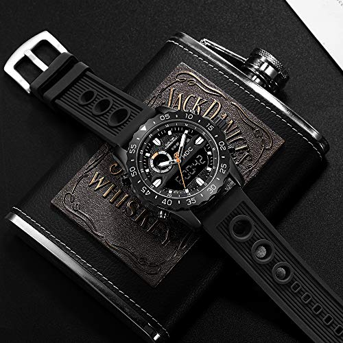 Big Face Military Tactical Watch for Men, Mens Outdoor Sport Wrist Watch, Large Analog Digital Watch - Dual Display… 4