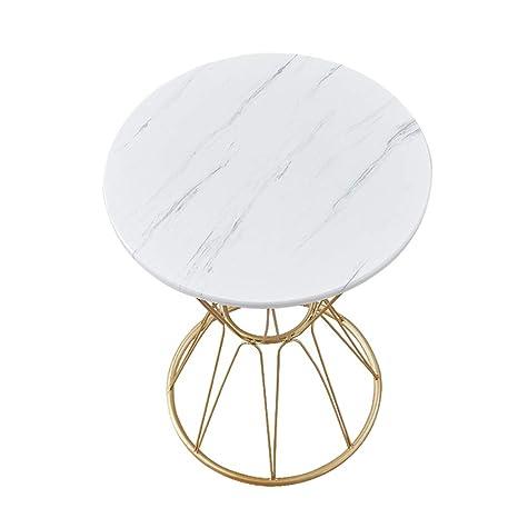 Amazon Com Dxjni White Marble Coffee Table Sofa Side Small