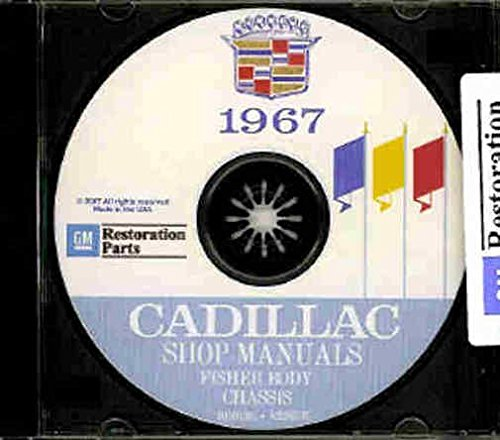 1967 Cadillac Repair Shop Manual & Body Manual on CD-ROM (Calais Fuel Pump)