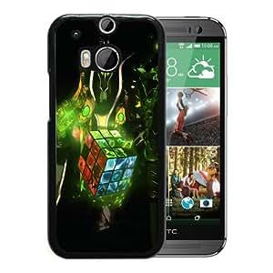 dota 2 art Black New Design HTC ONE M8 Protective Phone Case