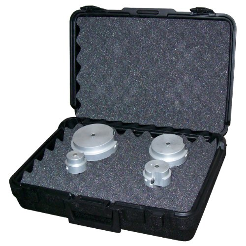 Reed Reamer - Reed Tool PPRK4 Plastic Pipe Reamer Kit, 4-Piece with Case