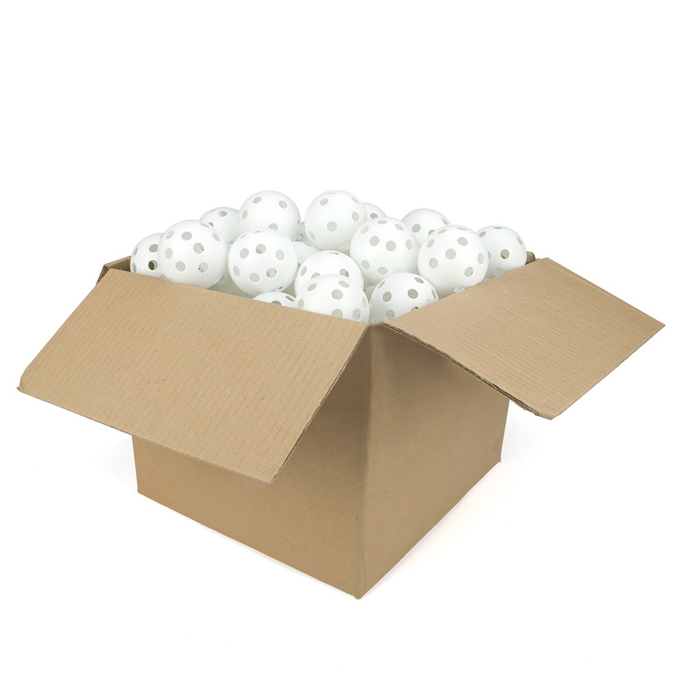 GOGO Poly Basebälle/72mm Kunststoff Sport Wiffle Kugeln, 60-Pack