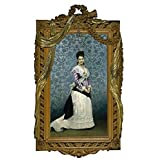 'Madrazo y Garreta Raimundo de Josefa Manzanedo e Intentas de Mitjans Marchioness of Manzanedo 1875 ' oil painting, 16 x 26 inch / 41 x 66 cm ,printed on polyster Canvas ,this Reproductions Art Decorative Canvas Prints is perfectly suitalbe for Kitchen gallery art and Home decor and Gifts