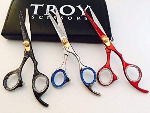 Professional Salon Stylist Barber Hair Cutting Scissors Hair Thinning Scissors Set Hair Cutting Scissors Shears 5.5 / Professional Salon Stylist Barber Hair Cutting Scissors Hair Thinning Scissors Set Hair Cutting Scissors Shears 5...