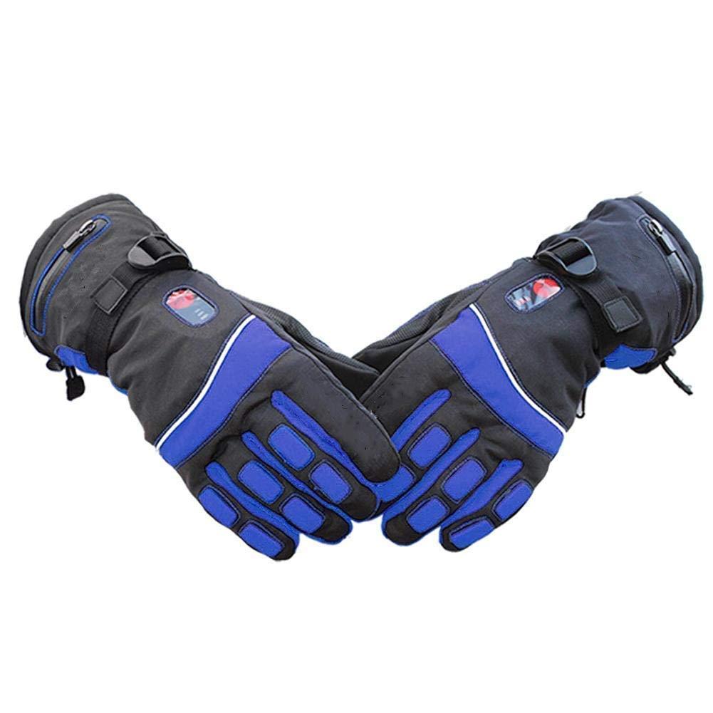 最高の品質 男性と女性の暖かい手袋電動ヒートサイクルグローブ、充電式バッテリー暖房バイクグローブ乗馬レースバイクスポーツウォーム手袋ブラック XL 青 B07JLW9ZG9 青 XL XL B07JLW9ZG9 XL 青, ハンコヤストア:3dc343bf --- svecha37.ru