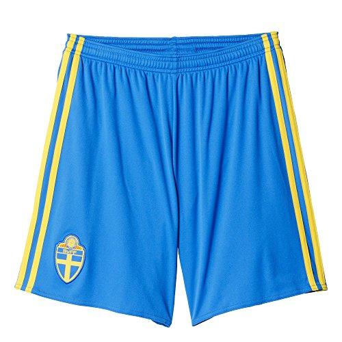 adidas Herren Trikot/Heim-shorts Schweden Replica, royal blau/gelb, M, AA0448
