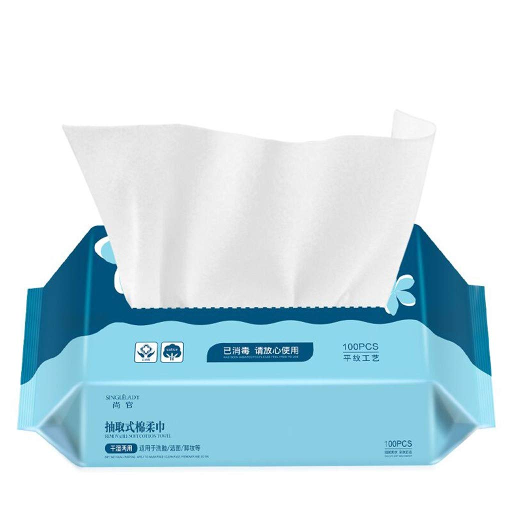HJuyYuah Portable Mini Rayon Disposable Compressed Towel for Travel/Home