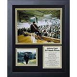 Legends Never Die Johnny Cash at Folsom Prison Framed Photo Collage, 11x14-Inch