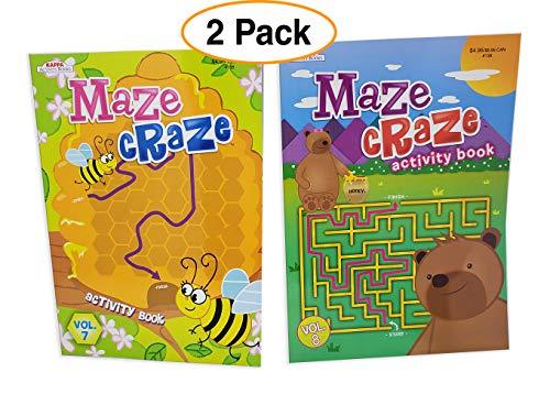 Kappa Maze Craze Maze Books for Kids  
