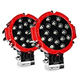 Nissan Off-Road Bumpers - Led Light Bar Nilight 2PCS 7