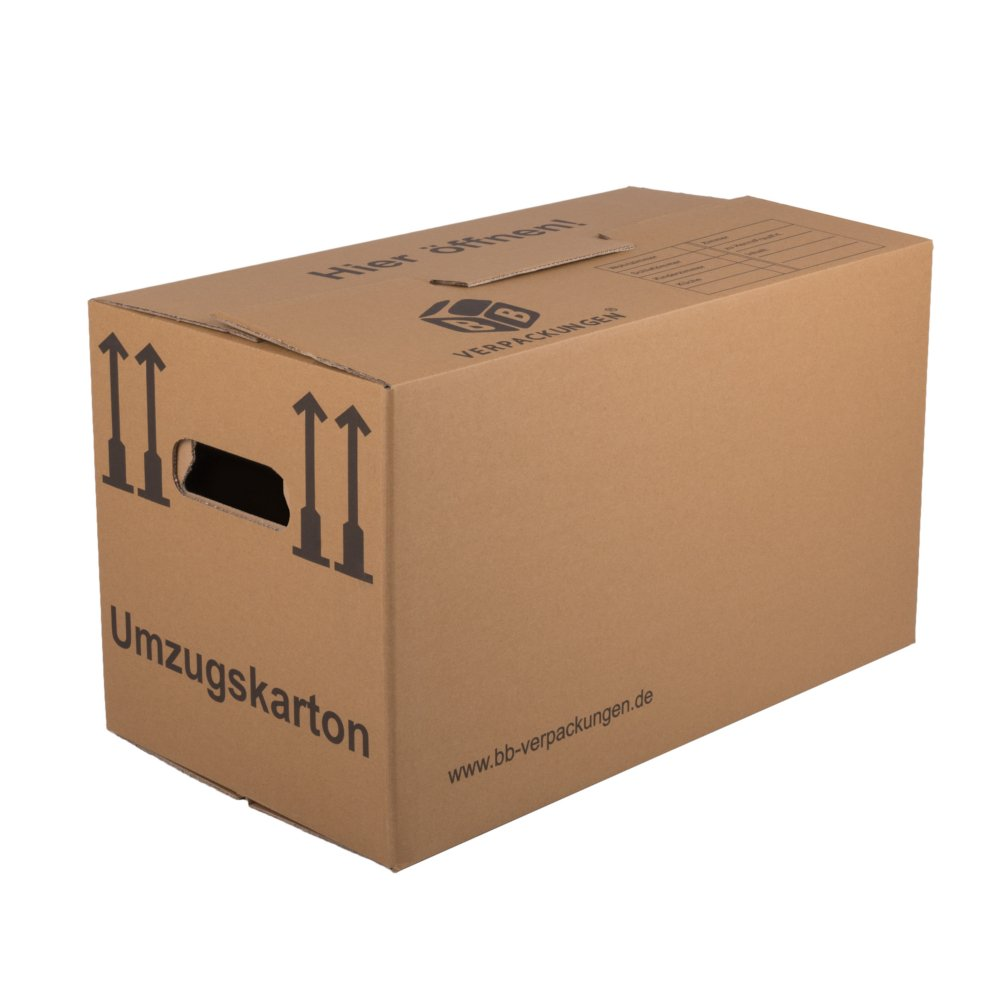 BB-Verpackungen Lot de 10 cartons de déménagement professionnels 2 pièces
