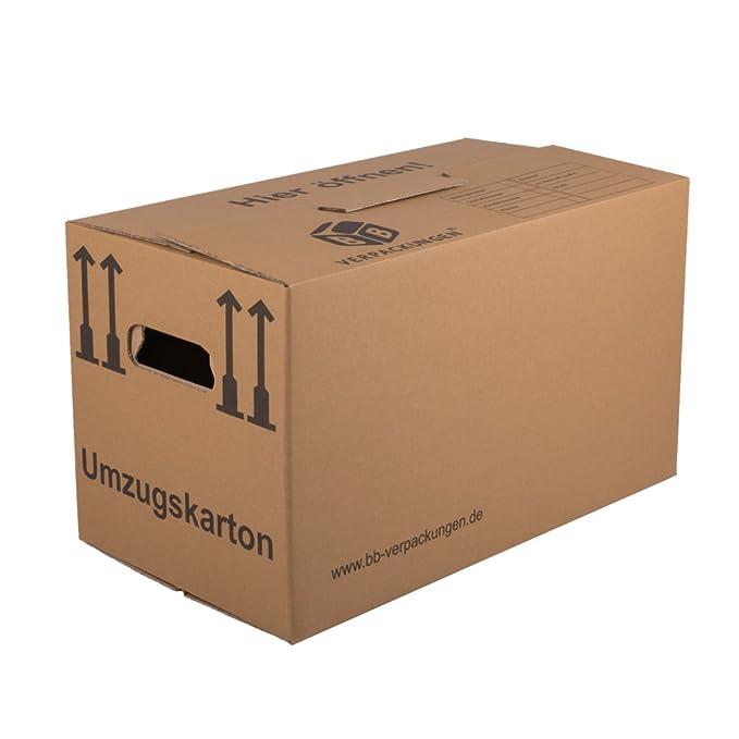 BB VerpackungenR 1010 Umzugskarton 30 Stuck Profi 2 WELLIG Doppelter Boden Amazonde Baumarkt