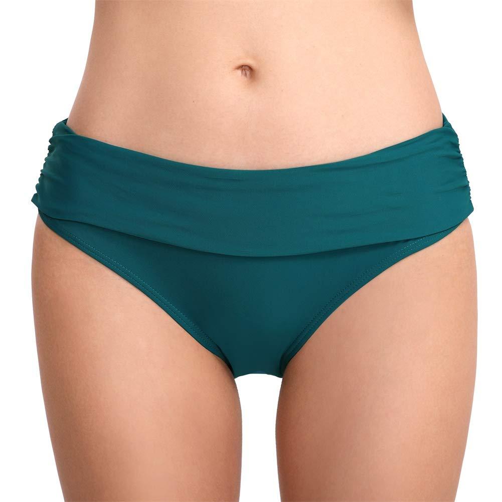 Bikini Bottoms Damen Black Swim Slips Solide Bikini Bottoms Swimwear Bottom Sexy Stretch-Hüft-Badehose Grün mAvZKISx 85% RABATT