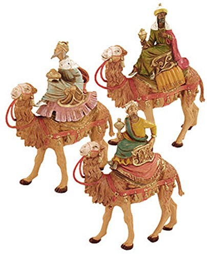 Fontanini 3 Kings on Camel